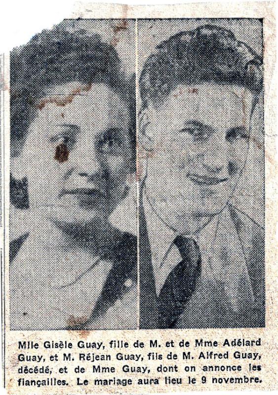 Mariage Gisèle et Réjean v3